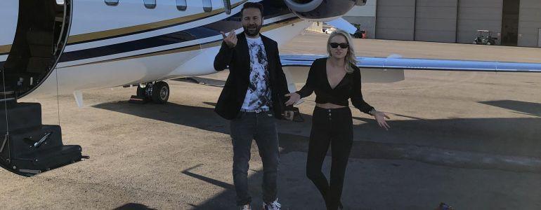 Amanda and Daniel Negreanu